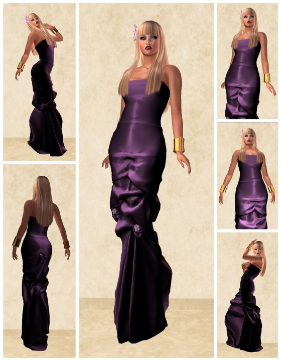 Sunday - lavender gown