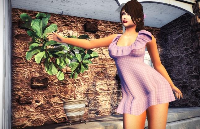 XT - little sweet lilas dress_002S