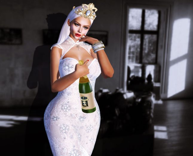 jp-champagne pose with white dress_006a